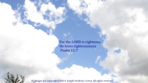 THE LORD IS REIGHTEOUS